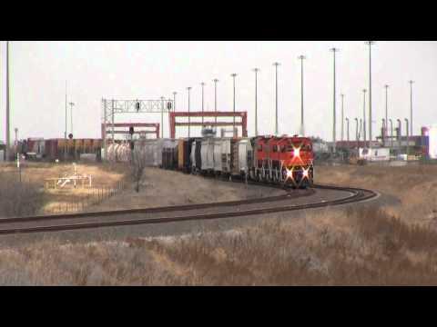 Railroad Videos   BNSF Alliance Area