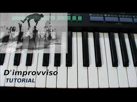 [ITA]D'improvviso (Lorenzo Fragola) Tutorial Piano