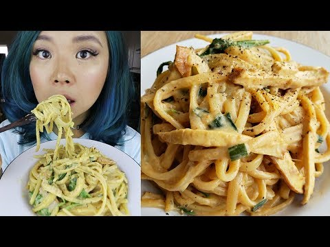 OMG! Creamy Vegan One Pot Pasta (TOOWOOMBA pasta) // Cook With Me