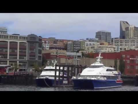 Seattle-to-Victoria BC on Victoria Clipper high-speed catamaran ferry 2013-10-01