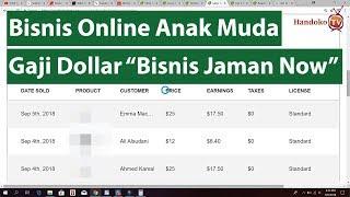Bisnis Online Anak Muda - 930 Ribu Hanya Modal 3 Karya Saja