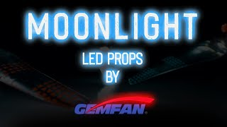 Vidéo: Gemfan 51466-3 LED Props V2 - Moonlight