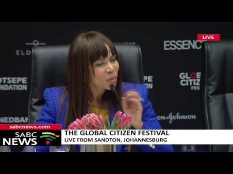 The Global Citizen Festival, 9 July 2018