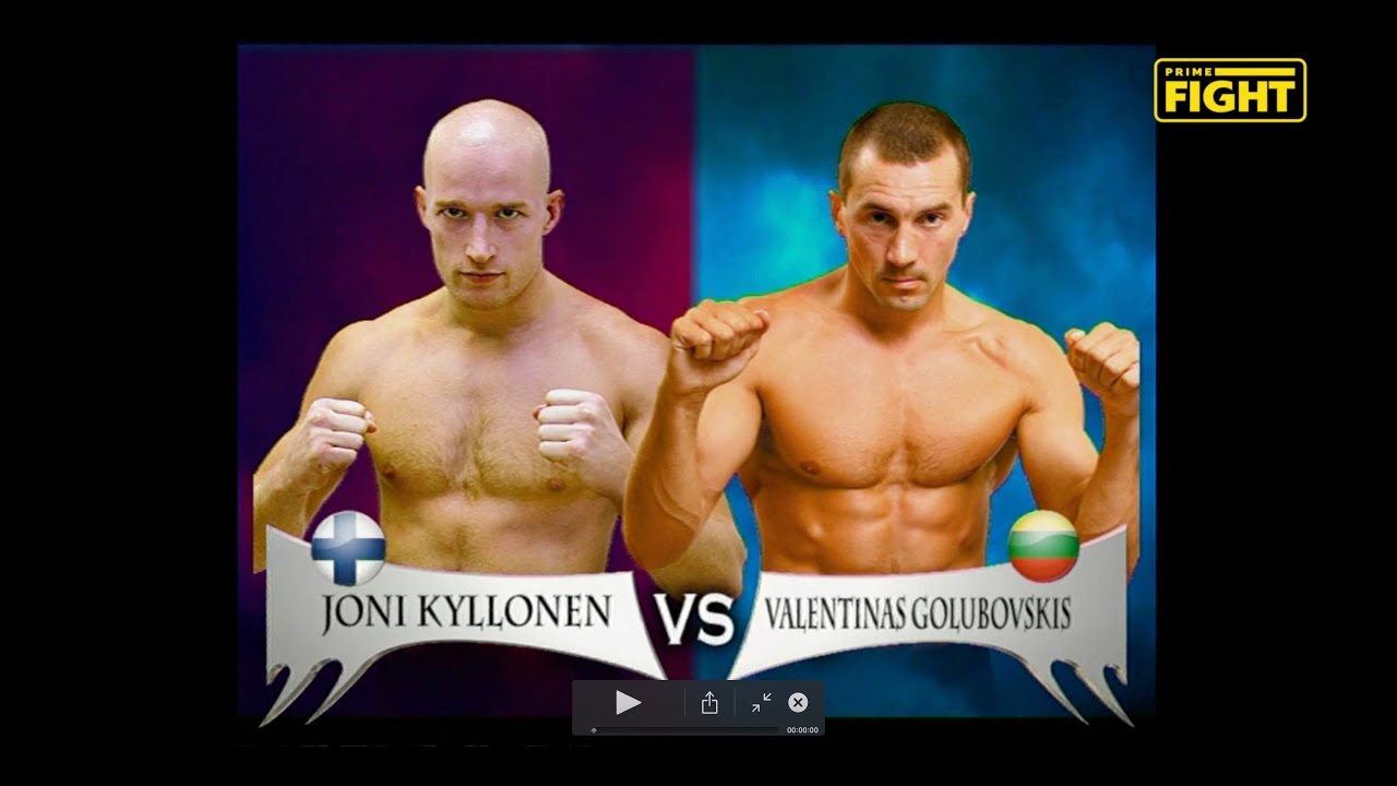 J.KYLLONEN vs V.GOLUBOVSKIS / FLASHBACK - BUSHIDO LEGENDS