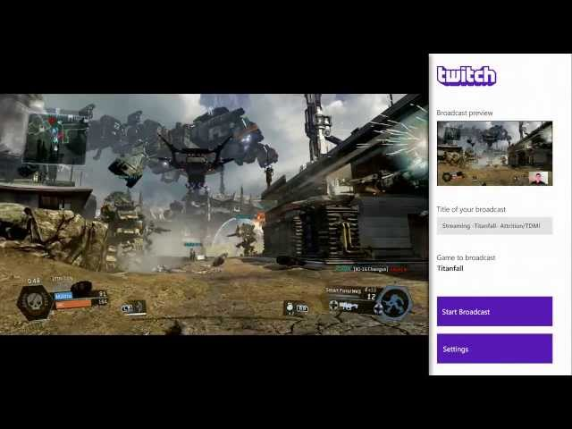 Xbox One matches PS4: Twitch streaming arriving with Titanfall on 11