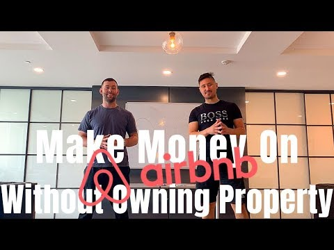 Make Money With Airbnb Without Owning Property