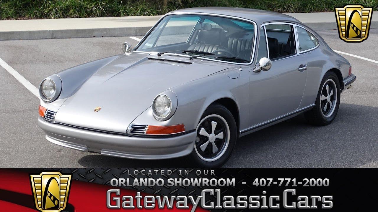 1970 Porsche 911 E - Gateway Classic Cars Orlando - #1360