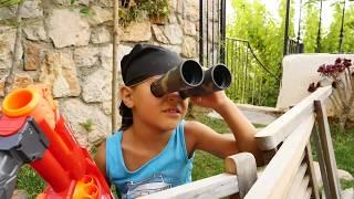 ЗОМБИ превратился в МОНСТРА ВЕЛИКАНА! Игры #Зомби 😠 Видео для Детей Мультик #игрушки Zombie