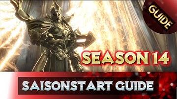 Diablo 3 - Saisonstart Guide - Season 14 | Saison 14 | Starter Guide | German