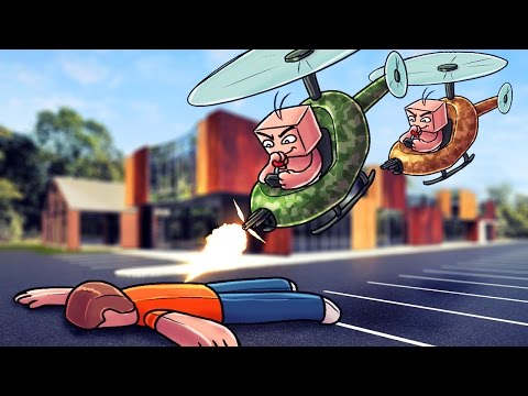Minecraft   Who s Your Daddy? BABY KILLS DAD WITH RC HELICOPTER! (Baby vs Dad)