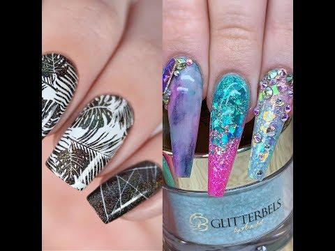 New nail art tutorial compilation 2019 thumbnail