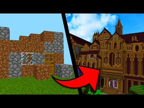Going from NOOB to PRO in Minecraft Pocket Edition (REALMS EPISODE 5)