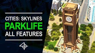 Everything you should know about PARKLIFE | Cities: Skylines DLC Review & Guide