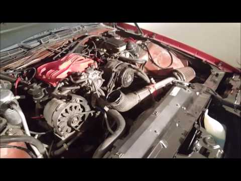 82-92 Camaro 2.8L Engine Removal Part 1 on