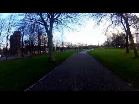 Cycling from Queen Street Station to Uddingston via Sustrans route 75 (part 1 of 3)