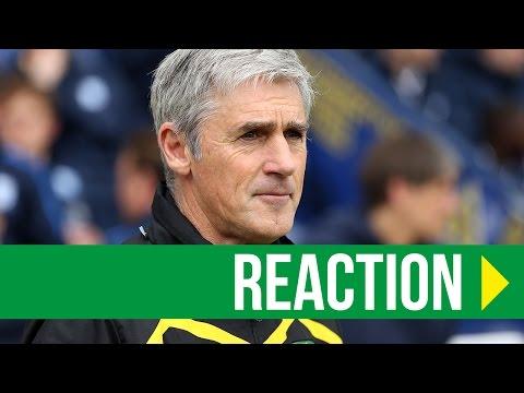 Preston North End 1-3 Norwich City: Alan Irvine Reaction