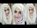 Crisscross Hijab Style with Covering Chest | Pari ZaaD ❤