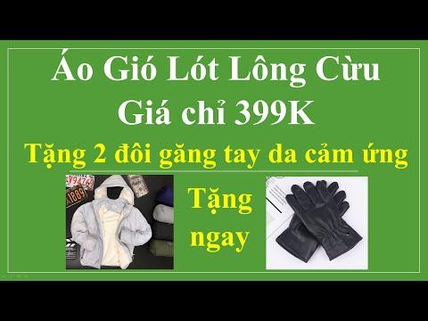 Áo Gió, áo Khoác Lót Lông HOT TREND Năm 2020