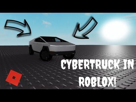 Tesla Cybertruck In Roblox?!