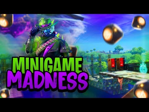 MINIGAME MADNESS - Fortnite Mini-Game met Duncan, Harm & Vincent