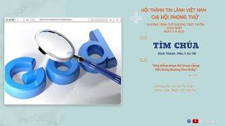 HTTL PHONG THỬ - Chương Trình Thờ Phượng Chúa - 05/09/2021