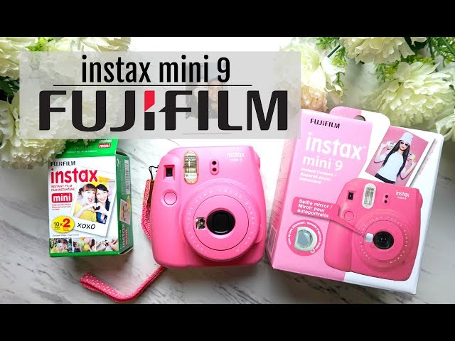 FUJIFILM -INSTAX MINI 9 | Unboxing [Nueva sin Abrir]