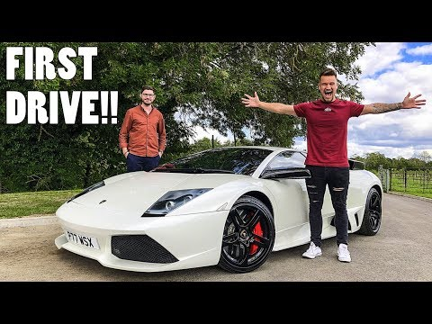 FIRST DRIVE: My Dream LAMBORGHINI MURCIELAGO!!!
