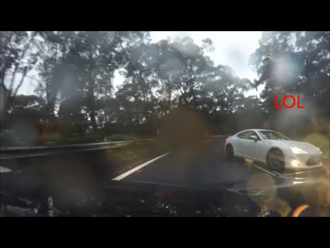 Toyota 86 drifting fail [Royal National Park Sydney]