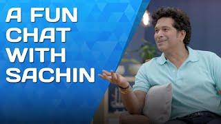 Fun chat with Sachin Tendulkar feat. A Super Over | Luminous Presents Dil Se