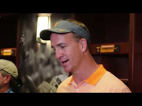 Peyton Manning excited for 2016 Tennessee Vols football season