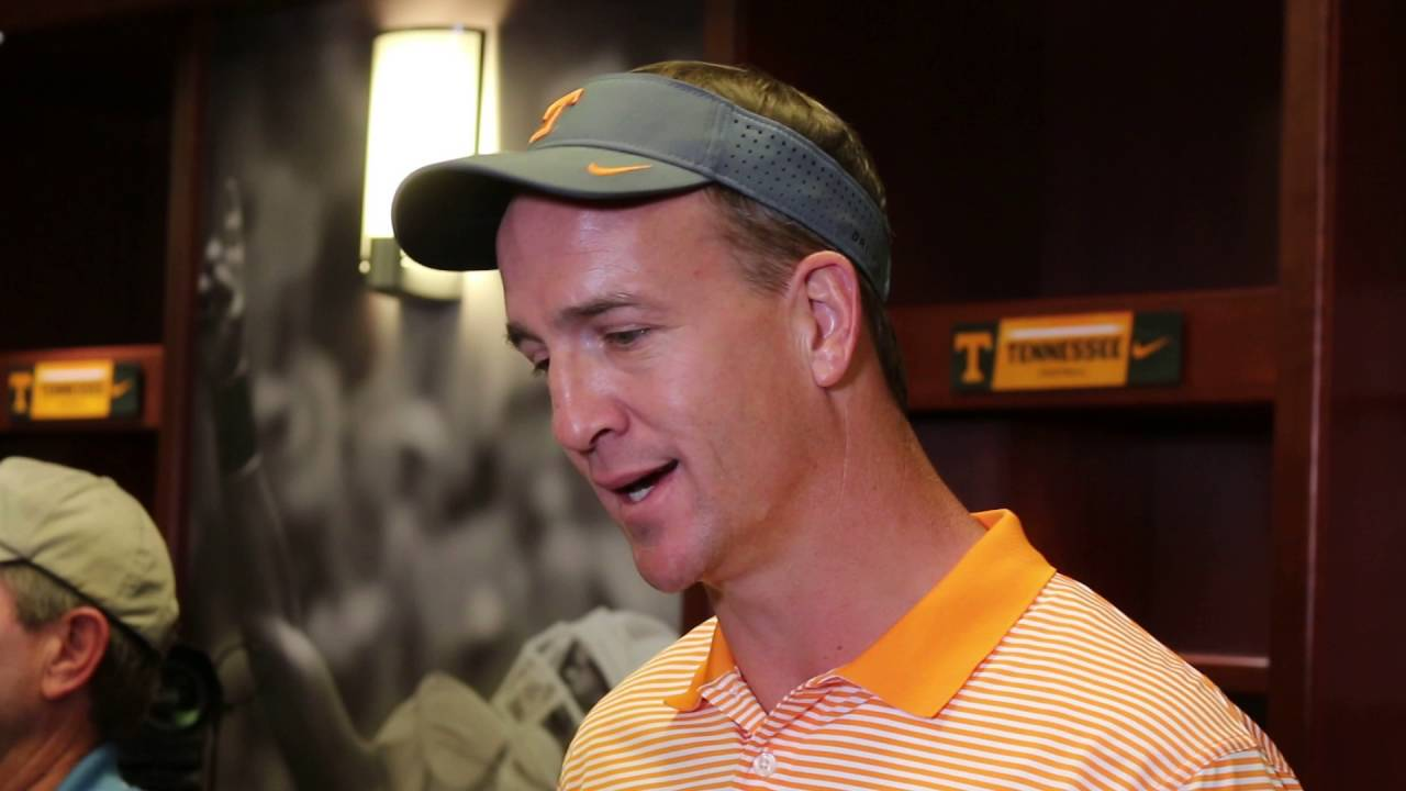 Peyton Manning excited for 2016 Tennessee Vols football ...