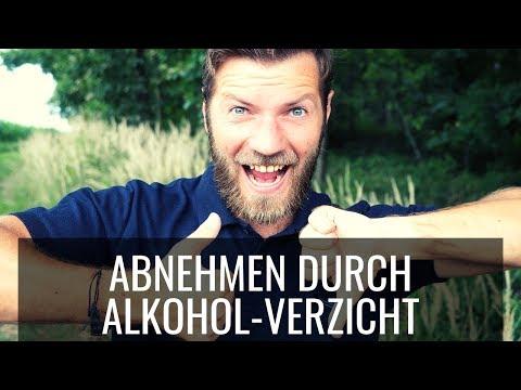 Abnehmen durch Alkoholentzug