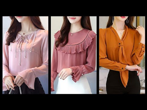Best Women's Long Sleeve Blouses And Tunic Tops Ideas