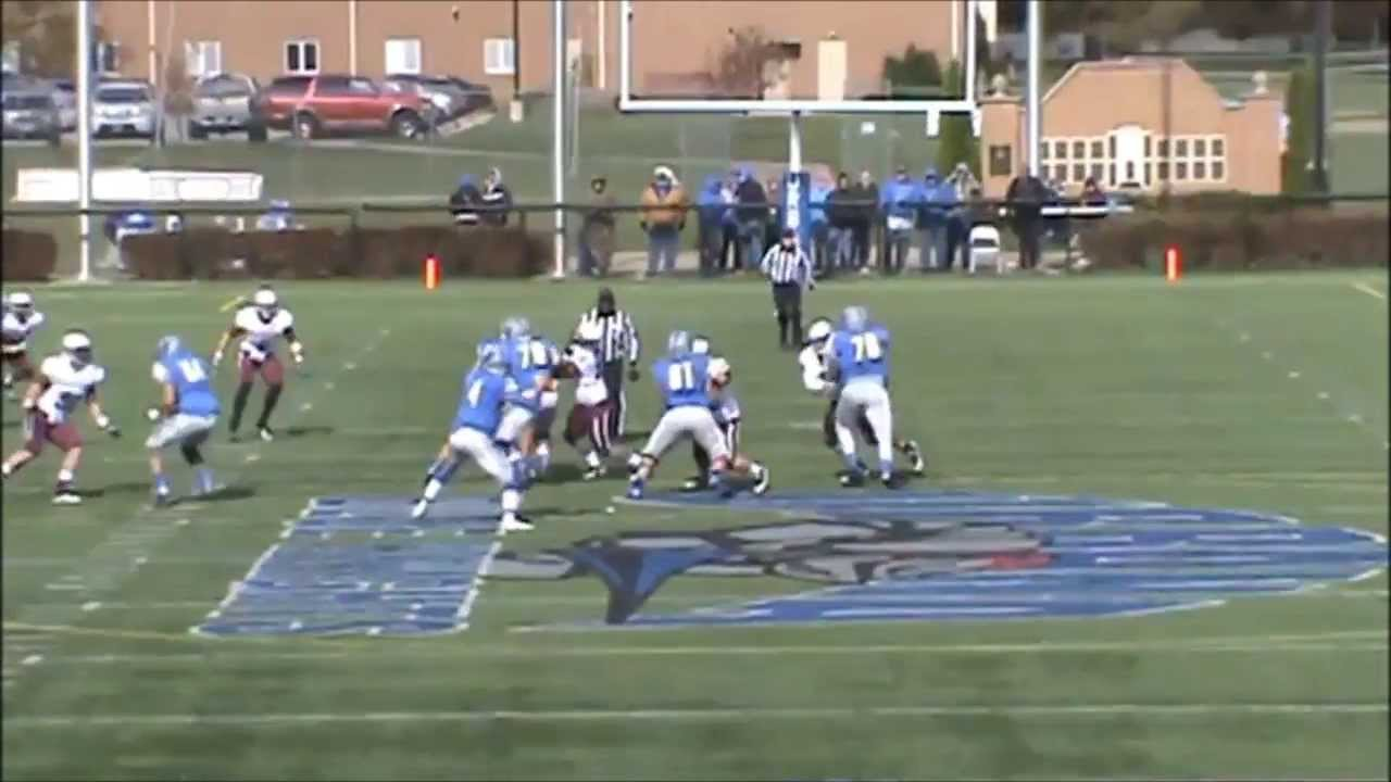2013 Urbana University Football Offensive Highlights - YouTube