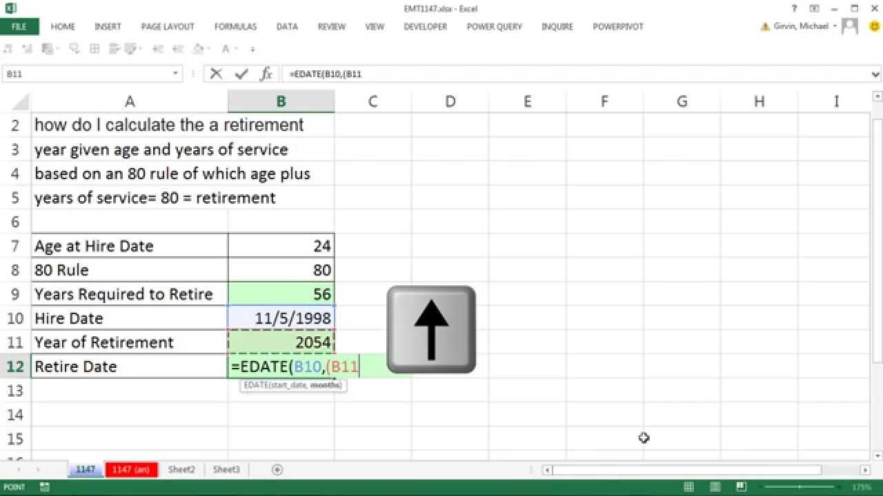 excel magic trick 1147 incorrect formula to calculate retirement