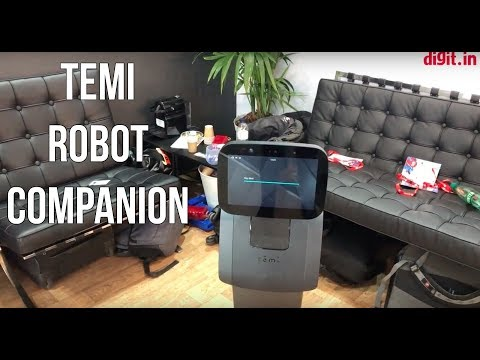 Temi Robot Companion First Look | Digit.in