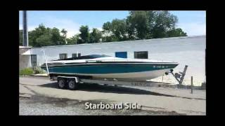 1988 Wellcraft Scarab 28 Excel Exterior Closeups For Sale17500 Inc Trailer Miami Vice