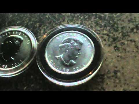Silver Bullion - 1oz Canadian Maple Leaf