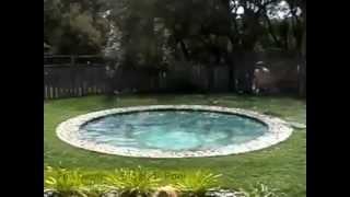 Hidden swimming pool