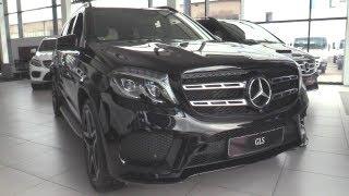 2018 Mercedes-Benz GLS350d 4matic (X166).  Обзор.