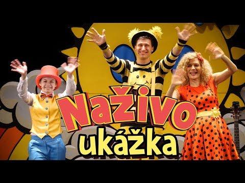 Smejko a Tanculienka Naživo: Kuk, ani muk! Ukážka / Trailer DVD
