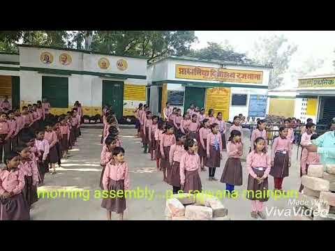 Morning assembly ...p.s.rajwana mainpuri