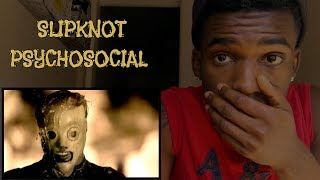 FIRST TIME LISTENING TO | Slipknot - Psychosocial  | REACTION