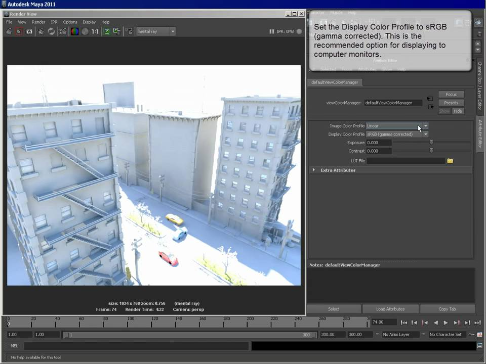 Controlling Color Profile on HDR Images Using Color ...