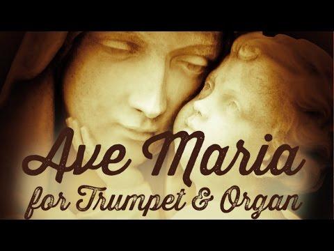 Trumpet and Organ - Robert Martin & Laurent Fris, Ave Maria, Notre Dame de la Garde, Marseille