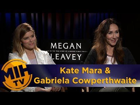 Kate Mara & Gabriela Cowperthwaite Megan Leavey Interview