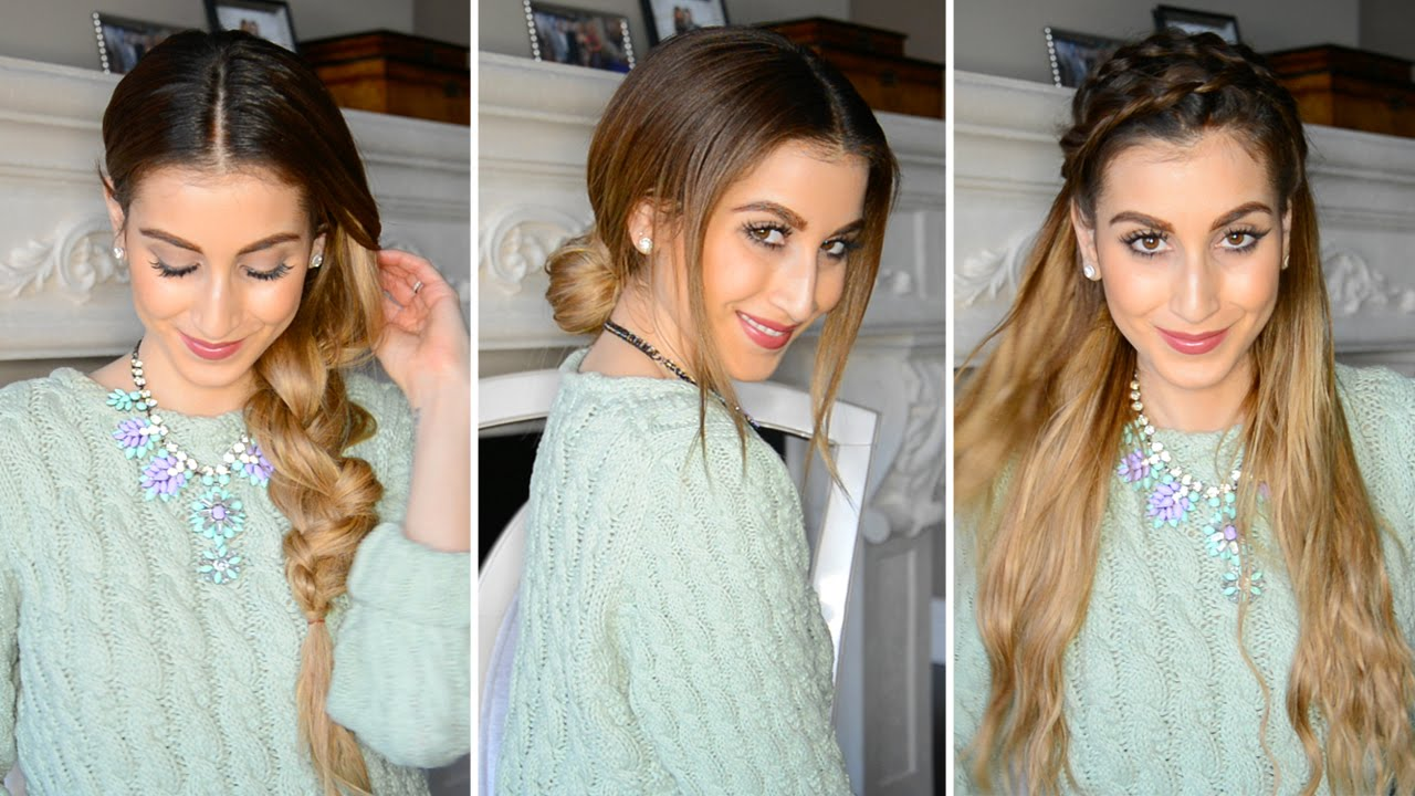 Hairstyles For Dirty Hair YouTube
