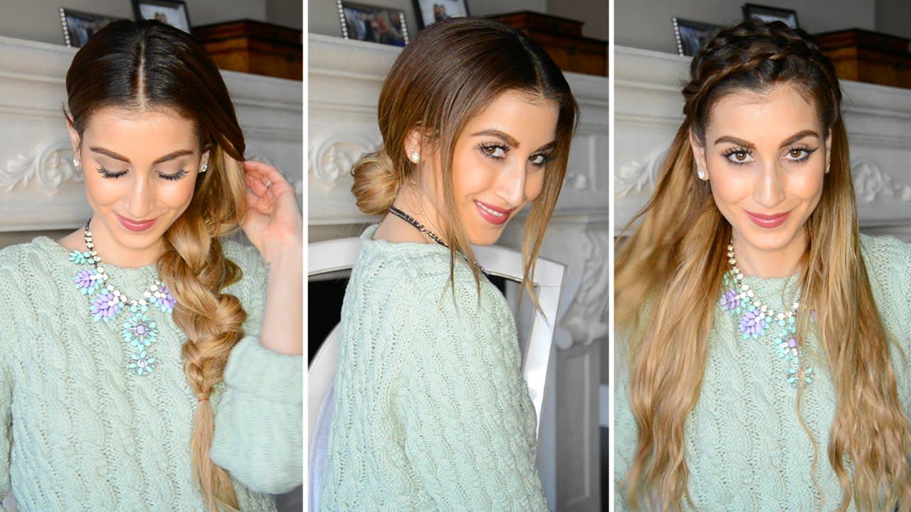 hairstyles dirty hair