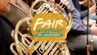 Fair internet for performers (Union of orchestral musicians of the Czech Republic)