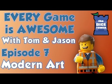 Every Game is Awesome 7 - Modern Art